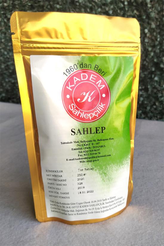 Saf Salep 250 Gr